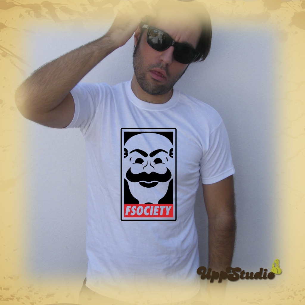 Camiseta Mr Robot FSociety | UppStudio