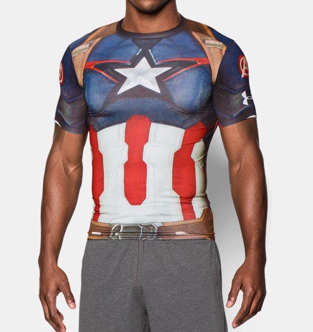 Camiseta Capitán América | Under Armour