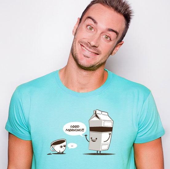 Camiseta Good Morning | Café | Desayuno | Friking