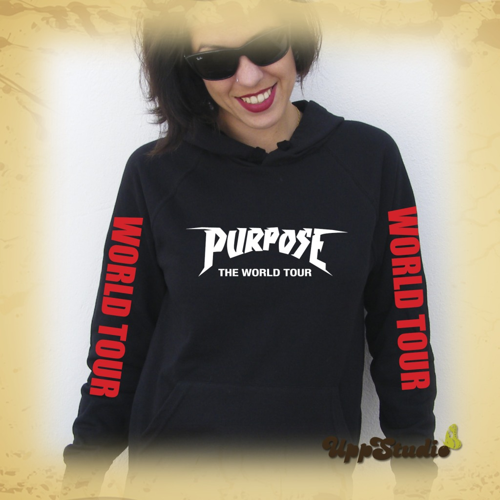 Sudadera Justin Bieber Purpose The World Tour | UppStudio