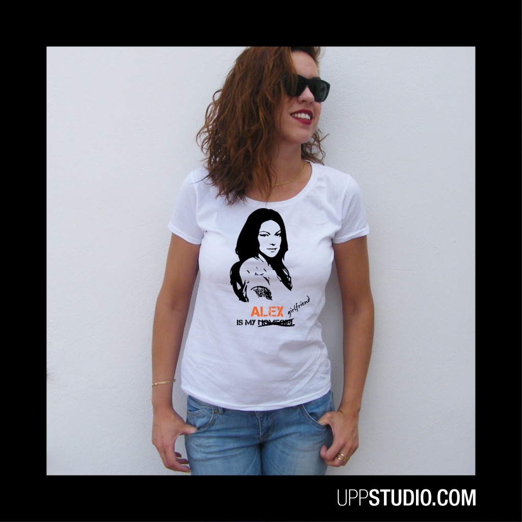 Camiseta Orange Is The New Black OITNB Alex Vause Is My Girlfriend | UppStudio