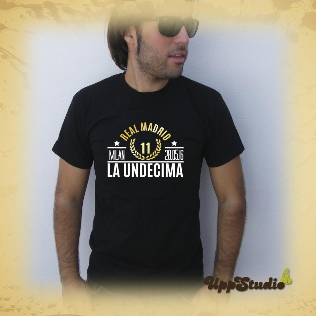 Camiseta Real Madrid La Undécima Copa de Europa Champions League Milán | UppStudio