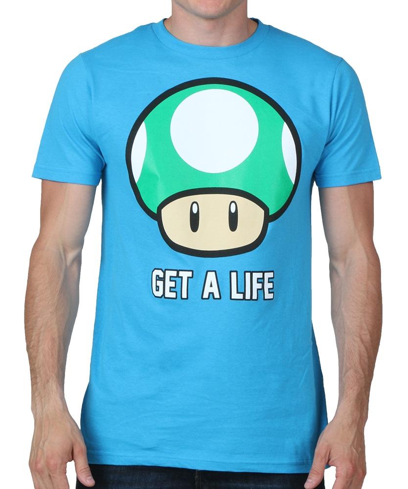 Camiseta Get A Life | Nintendo