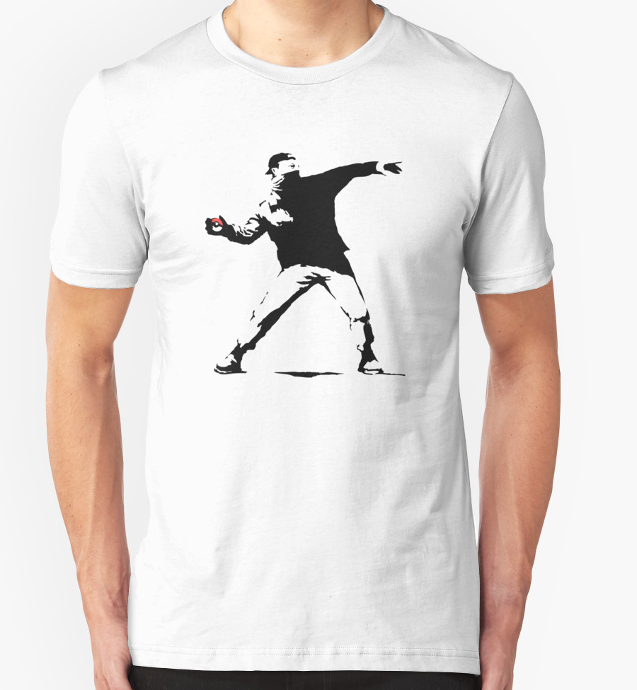 Camiseta Pokeball Banksy | RedBubble