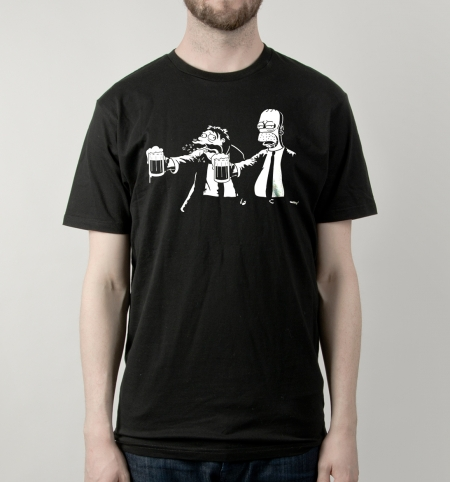 Camiseta Pulp Simpson | Busted Tees
