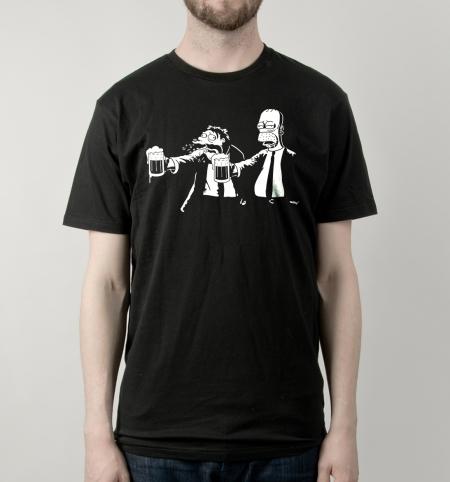 Camiseta Pulp Simpson | Busted Tees