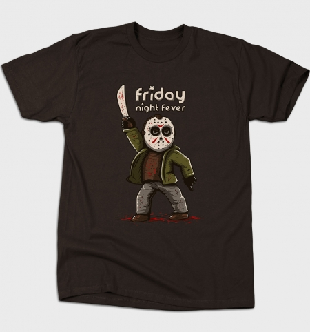 Camiseta Friday Night Fever | Busted Tees