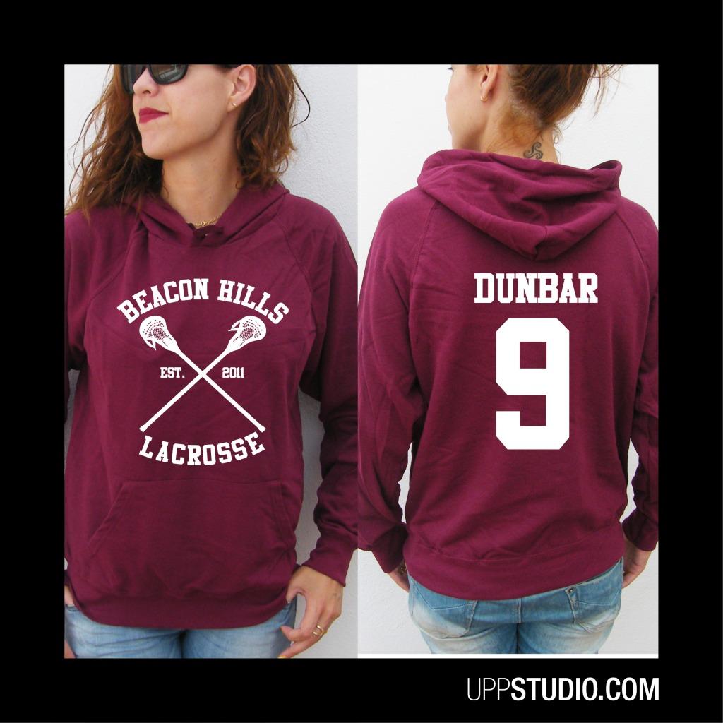 Sudadera Liam Dunbar 9 Teen Wolf | Beacon Hills Lacrosse | UppStudio