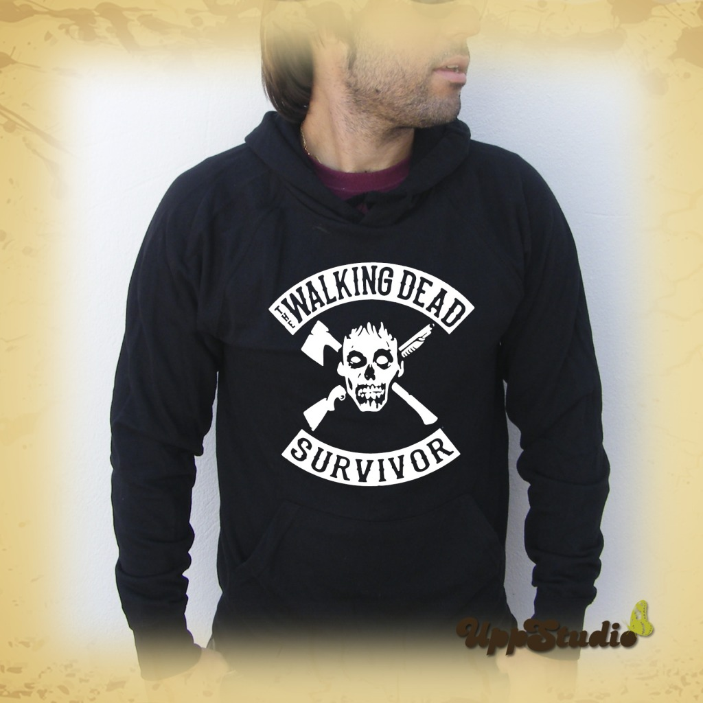 Sudadera The Walking Dead Survivor | UppStudio