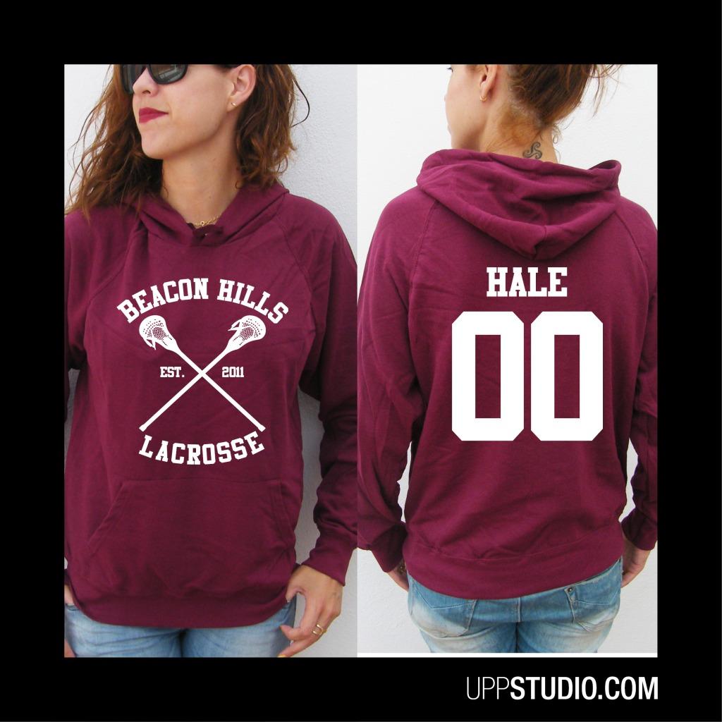 Sudadera Derek Hale 00 Teen Wolf | Beacon Hills Lacrosse | UppStudio