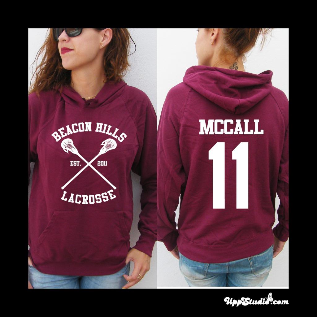 Sudadera McCall 11 Teen Wolf | Beacon Hills | UppStudio