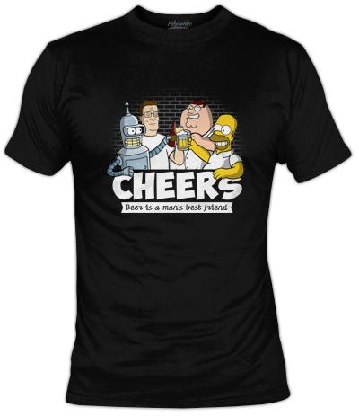 Camiseta Cheers | Fanisetas