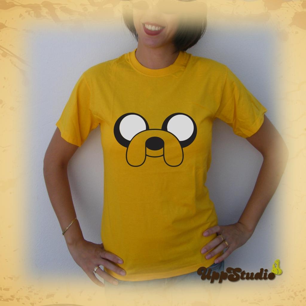 Camiseta Jake El Perro | Hora de Aventuras | UppStudio